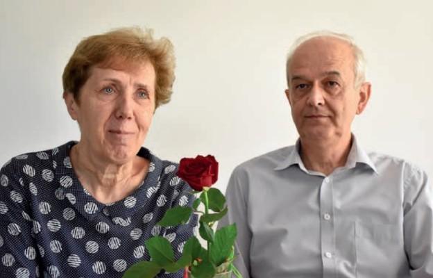 Państwo Ewa i Jerzy Józefczykowie są małżeństwem od 37 lat