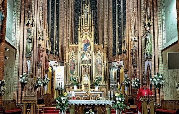 Msza św. pod przewodnictwem ks. Tomasza Kuli