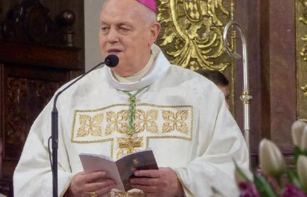 Biskup legnicki poinformował o kolejnych zmianach