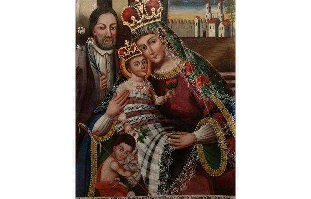 Maryja patrząca na mnie - wizerunek Matki Bożej Dzikowskiej