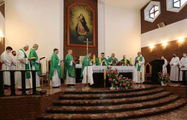 Msza św. w Harmężach.