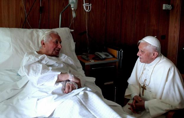 W szpitalu w Rzymie, 2005 r.