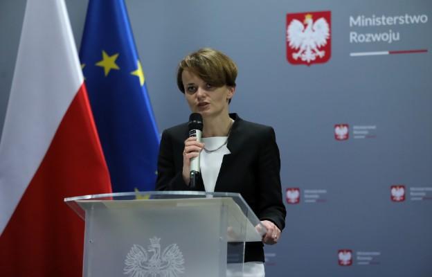 Wicepremier, minister rozwoju, Jadwiga Emilewicz
