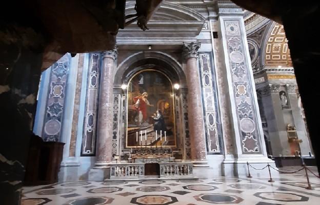 Ołtarz Najświętszego Serca Jezusowego w bazylice św. Piotra