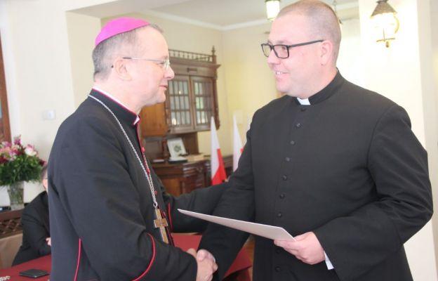 Nowym sekretarzem bp. Tadeusza Lityńskiego został mianowany ks. Norbert Lasota