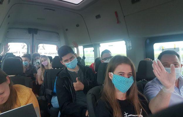 KSM-owicze w drodze na Jasną Górę