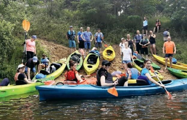 W spływie kajakowym wzięło udział 25 osób
