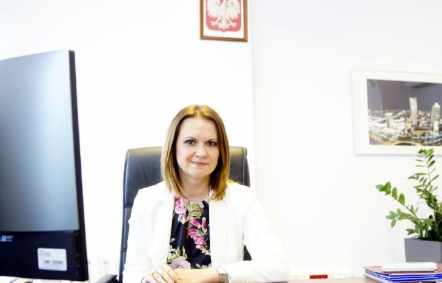 Wiceminister Rodziny i Polityki Społecznej Anna Schmidt-Rodziewicz