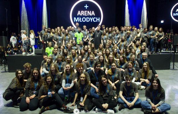 Wolontariusze Areny Młodych
