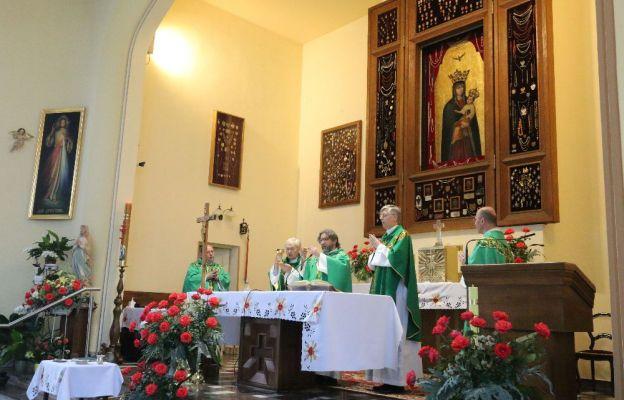 Podczas uroczystej Eucharystii
