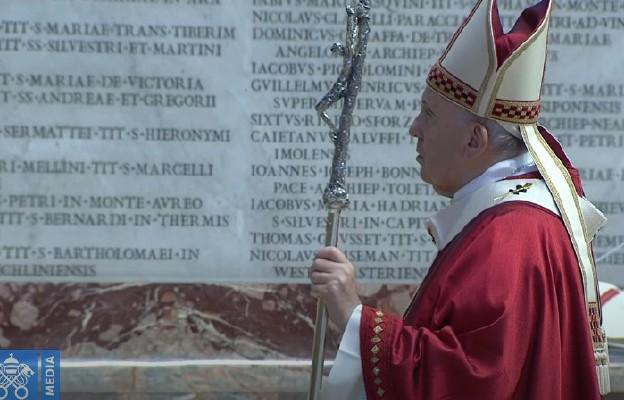 Franciszek: Pan pragnie byśmy byli prorokami i budowniczymi jedności