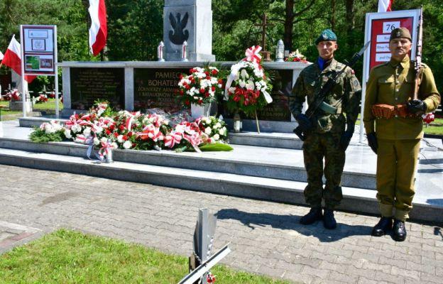 Uroczystości na największym cmentarzu partyzanckim w Polsce