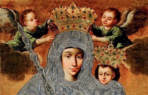 Słynący łaskami obraz Matki Bożej w Ostrożanach