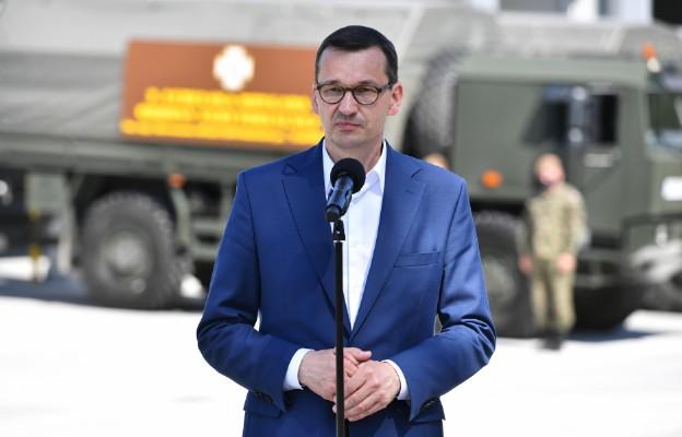 Morawiecki: prezydent buduje państwo silne dla silnych, wyrozumiałe dla słabszych