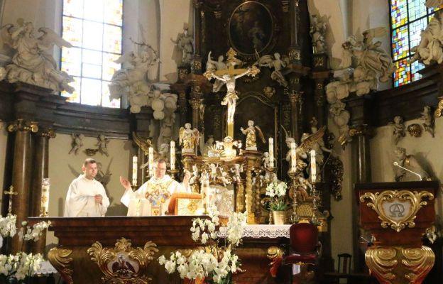 Eucharystia w intencji Wspólnoty Krwi Chrystusa w parafii św. Maurycego