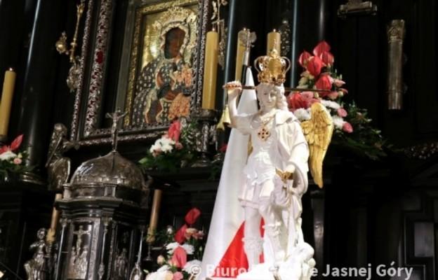 Ze św. Michałem Archaniołem na Jasną Górę - peregrynacja figury największego z aniołów
