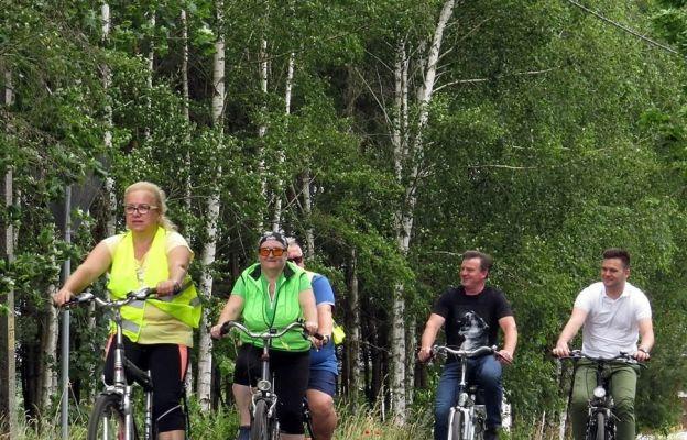 Rajd rowerowy w Kołczynie