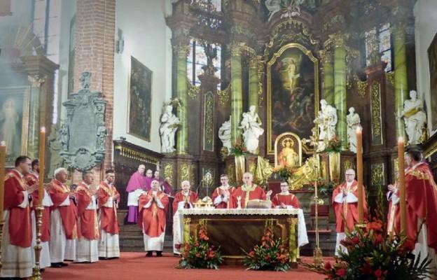 Msza św. odpustowa w katedrze