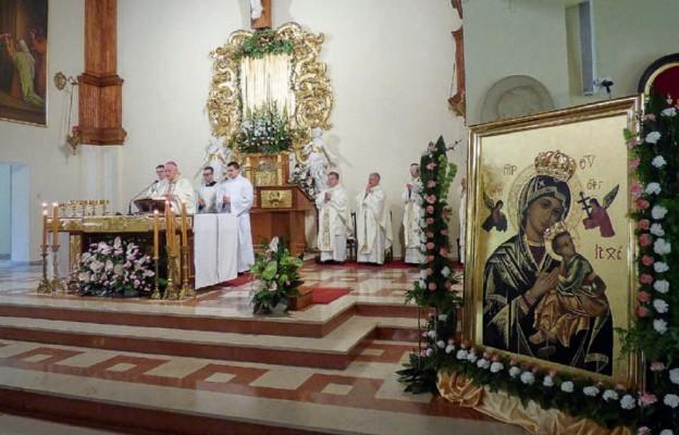 Koronacja obrazu koronami biskupimi