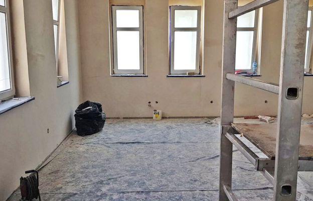 Trwa remont Katolickiego Centrum Studenckiego w Słubicach