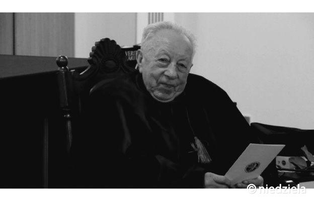 Zmarł ks. prałat prof. dr hab. Jan Związek