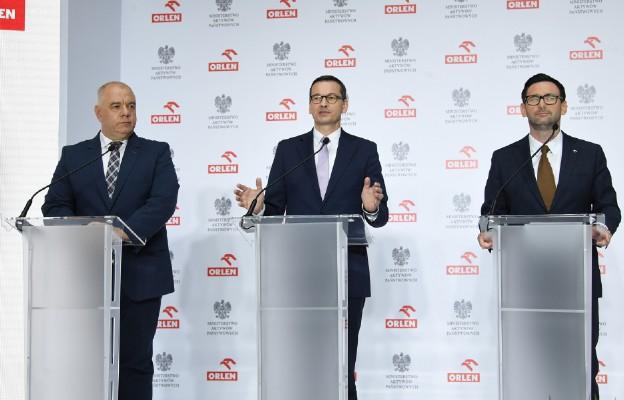 Premier: fuzja Orlenu i Lotosu to jeden z ważniejszych procesów dla polskiej gospodarki