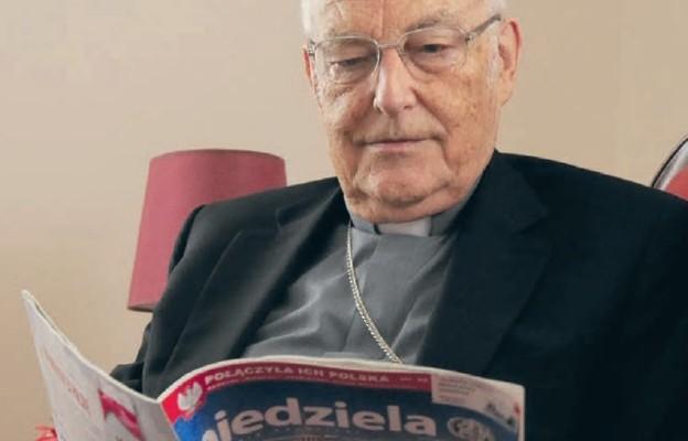 Kard. Zenon Grocholewski żywo interesował się wydarzeniami w kraju i w polskim Kościele