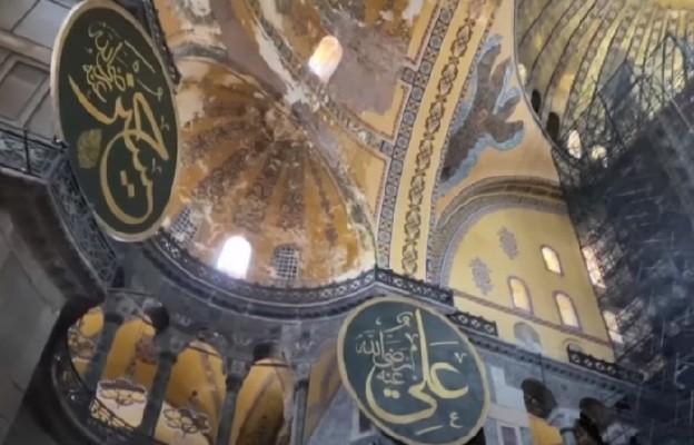 Hagia Sophia: mozaiki i freski nadal zakryte