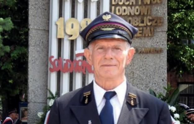 Czesław Niezgoda jest bohaterem  kolejarskiego protestu
