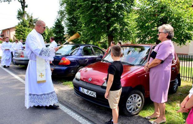 Poświęcenie pojazdów w parafii św. Michała Archanioła w Soli