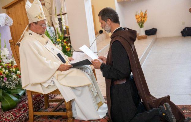 Łódź - pierwsze śluby zakonne we Wspólnocie Sług Ducha Pocieszyciela