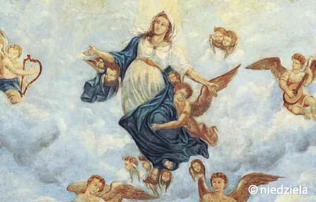 Maryja Wniebowzięta z kościoła Przemienienia Pańskiego w Tarnogrodzie
