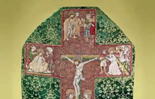 Ornat wzorowany na Drodze Krzyżowej