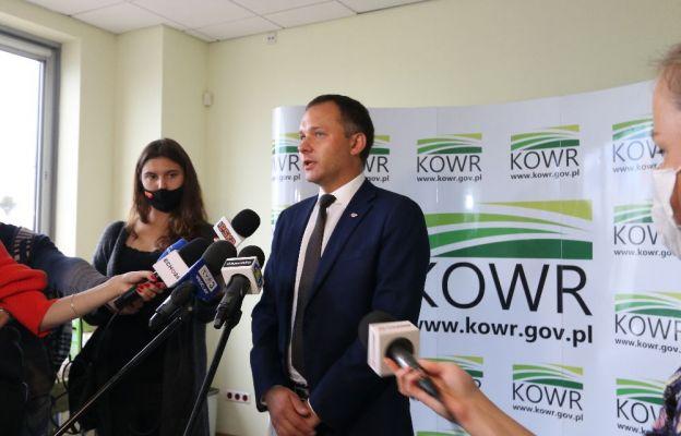 Dyrektor Oddziału Terenowego KOWR we Wrocławiu Tomasz Krzeszowiec