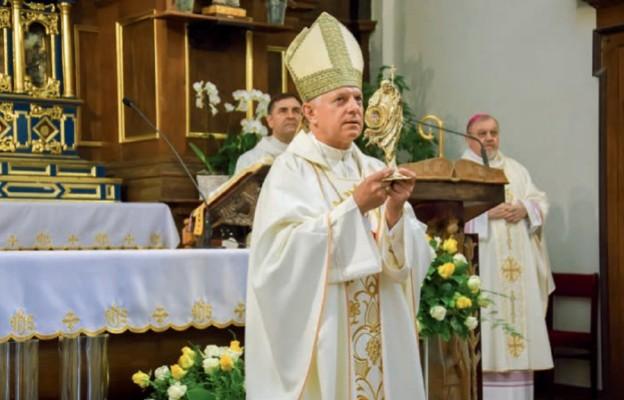 Papieskie relikwie wklasztorze