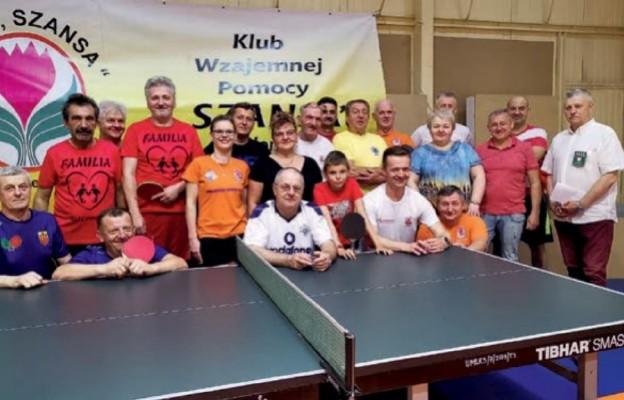 """Klub """"Szansa"""" podczas II Turnieju Tenisa Stołowego Środowisk Abstynenckich"""