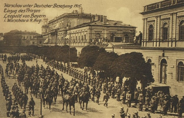 105 lat temu do Warszawy wkroczyły wojska Cesarstwa Niemieckiego