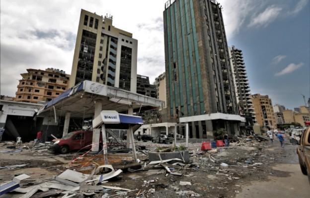 Liban/ Prezydent: obca ingerencja możliwą przyczyną wybuchu w Bejrucie