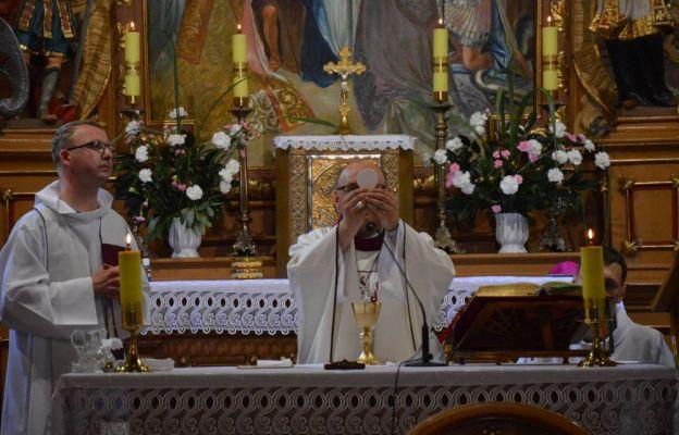 Olesno św. Anna - msza