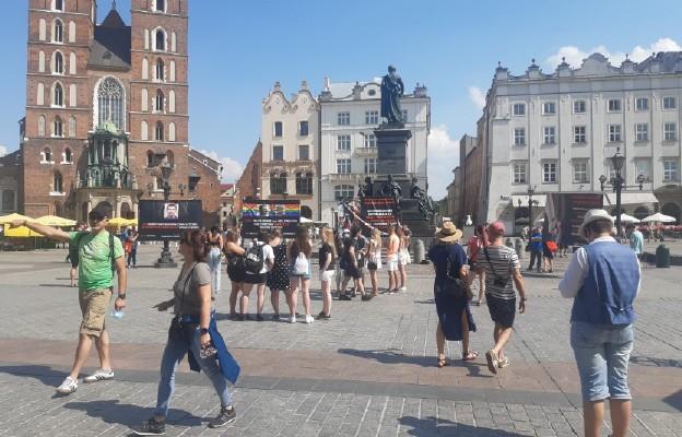 Kraków: #Stop dewiacji - pikieta Fundacji Życie i Rodzina