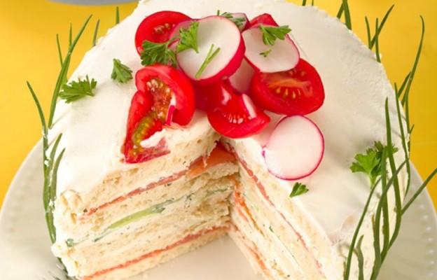 Tort na słono