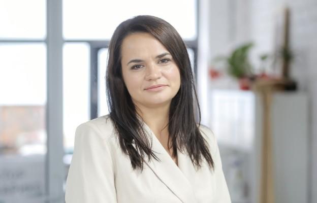 Białoruś/ Sztab: Cichanouska wywieziona z kraju przez władze