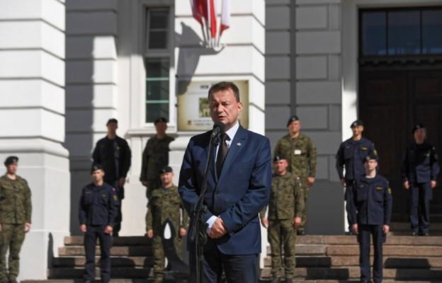 Błaszczak podczas polsko-amerykańskich ćwiczeń wojskowych: razem jesteśmy silniejsi