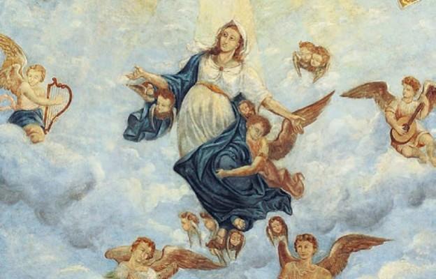 Święte ciało idzie do nieba