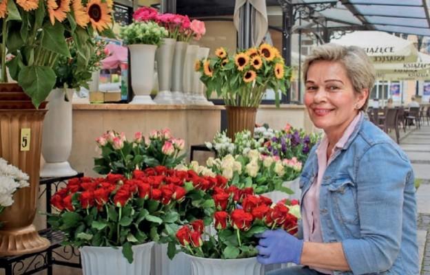 Róże, gerbery i goździki