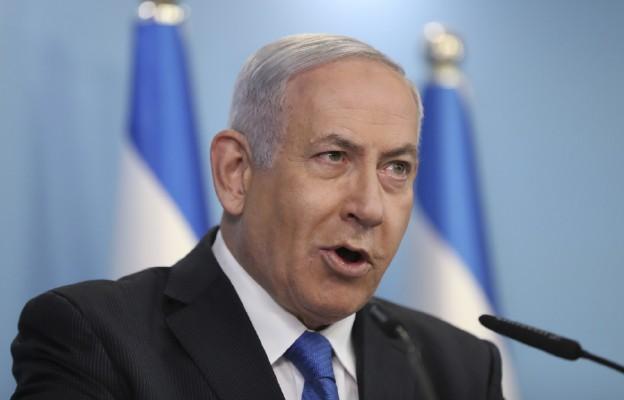 Premier Izraela Benjamin Netanyahu