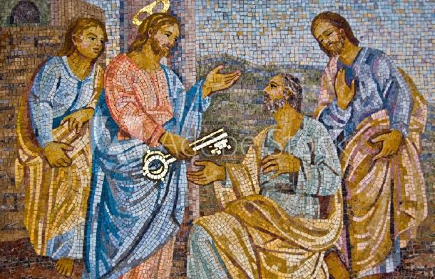 Ty jesteś Piotr i tobie dam klucze królestwa niebieskiego