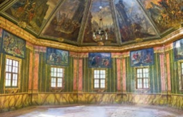 Odrestaurowane wnętrze pawilonu
