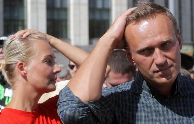 Julia i Aleksiej Nawalny
