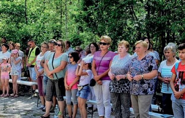 Wspólna modlitwa na Pszczelnej